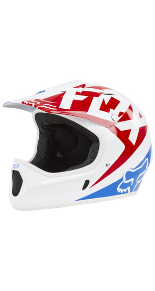 Fox Rampage Race Helmet white